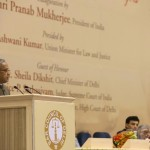 President Pranab Mukherjee addresses the seminar